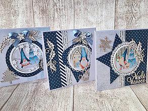 Papiernictvo - Vianočné pohľadnice - 8661233_