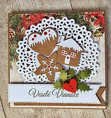 Papiernictvo - Vianočná pohľadnica - 8662140_
