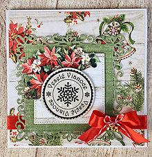 Papiernictvo - Vianočná pohľadnica - 8662464_