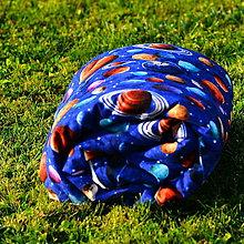 Textil - Deka planétky - 8662894_