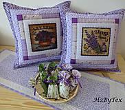 Úžitkový textil - Vankúše fialové - 8663942_