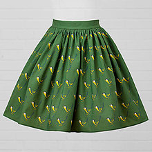 Sukne - Diva Bara - bambusová sukňa - sýkorka - 8662319_
