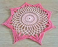 Úžitkový textil - Malá ružová - 8662262_