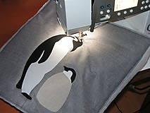 Úžitkový textil - Tučniaky - 8664250_
