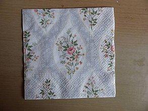 Papier - ružičky - 8661111_