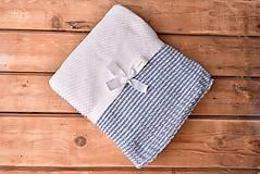 Textil - Deka pre Chlapčeka, Vintage BluEye, OEKO-TEX®, 80x80 - 8665551_