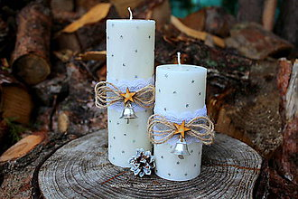 Svietidlá a sviečky - Vianočné obdobie - 8666125_