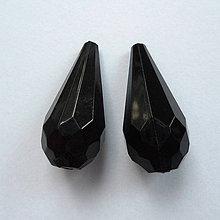 Korálky - Slza plast 24x11mm-1ks - 8668865_