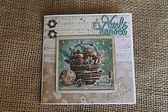 """Papiernictvo - Vianočná pohľadnica """"Tradičné Vianoce 2"""" - 8665628_"""