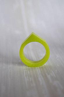Prstene - Prsteň Pastelová zelená 2 (2261 A) - 8665141_