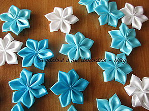 Materiál ručne robený - Kvety na výzdobu - 8668860_