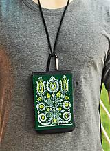 Na mobil - Univerzálne púzdro na mobil kvety ľudový motív 2 - 8667021_