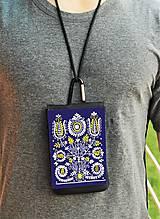 Na mobil - Univerzálne púzdro na mobil kvety ľudový motív 2 - 8667022_