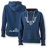 Mikiny - Mikina ornament - ľudový motív - rôzne farby - 8667376_