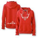 Mikiny - Mikina ornament - ľudový motív - rôzne farby - 8667377_