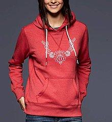 Mikiny - Mikina ornament - ľudový motív - rôzne farby - 8667372_