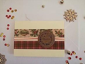 Papiernictvo - Vianočná pohľadnica - 8666861_