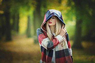 Kabáty - Kostkovaný kabát - limitovaná edice - 8664486_