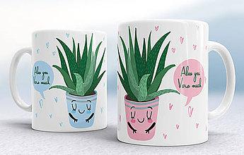 Nádoby - Aloe vera šálky - 8664355_