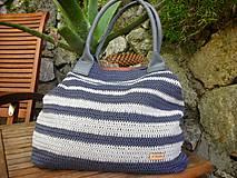 Veľké tašky - Námornická taška - 8664898_