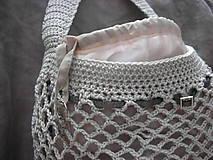 Nákupné tašky - Retro sieťovka (s vnútorným vreckom) - 8666384_