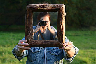 Zrkadlá - Bukové zrkadlo - 8668819_