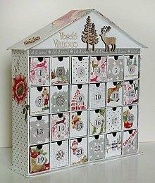 Krabičky - Čarovná zima adventný kalendár - 8668427_
