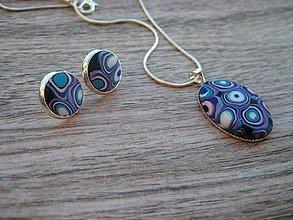 Sady šperkov - Farebné bublinky- sada č.1371 - 8665195_