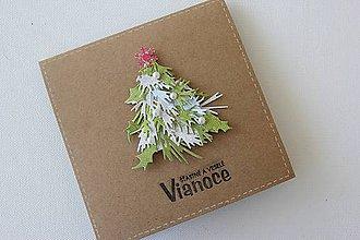 Papiernictvo - Vianočná pohľadnica - 8665863_