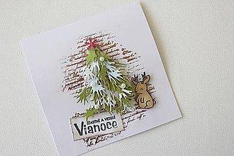 Papiernictvo - Vianočná pohľadnica - 8665867_