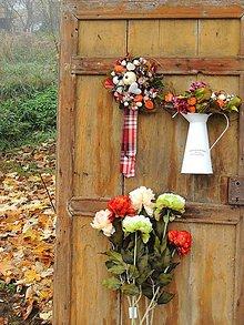 Dekorácie - Jesenná kytica - 8664807_