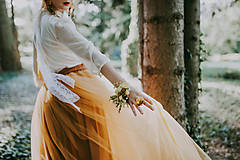 """Náramky - Kvetinový náramok """"babie leto"""" - 8665973_"""
