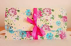 Papiernictvo - darčeková obálka - 8666761_