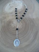 Iné šperky - ochranný ruženec do auta so sv. Krištofom - 8668244_