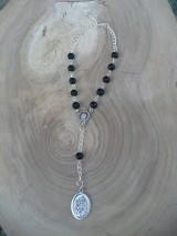 Iné šperky - ochranný ruženec do auta so sv. Krištofom - 8668252_
