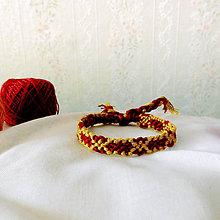 Náramky - Zlatá reťaz - náramok priateľstva - 8668176_
