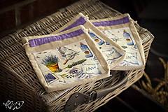 Úžitkový textil - Vrecká na bylinky No.16 - 8671602_