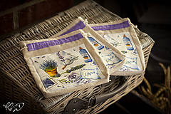 Úžitkový textil - Vrecká na bylinky No.16 - 8671603_