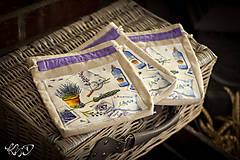 Úžitkový textil - Vrecká na bylinky No.16 - 8671604_