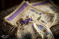 Úžitkový textil - Vrecká na bylinky No.16 - 8671606_