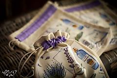 Úžitkový textil - Vrecká na bylinky No.16 - 8671607_