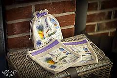 Úžitkový textil - Vrecká na bylinky No.16 - 8671609_