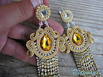 Queen Beauty Universe (Gold/ Topaz...soutache)