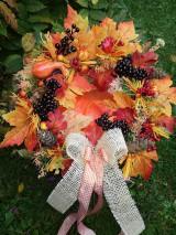 Dekorácie - Jesenný veniec 12 - 8669558_