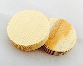 Polotovary - Borovicový kruh 4 cm - 8669991_