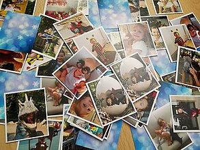 Hračky - rodinné pexeso z Vašich fotiek 48 kartičiek - 8672529_