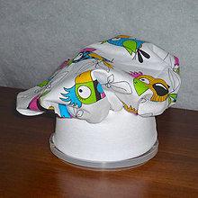 Čiapky - kuchárska čiapka pre malých pomocníkov - 8669996_