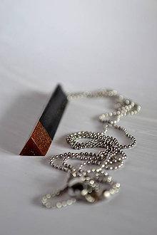 Náhrdelníky - Náhrdelník Čierna meď 3 (2277 A CHO) - 8672452_