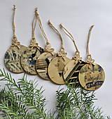 Drobnosti - Vianočné gule - 8669137_