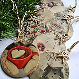 Dekorácie - Vianočné gule - 8669140_